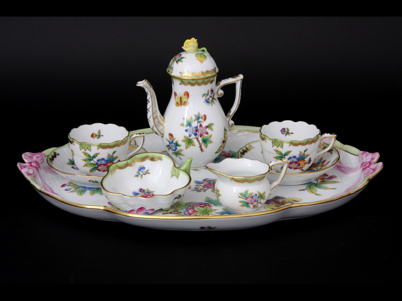 Herend porcelain exhibition opens in Ankara