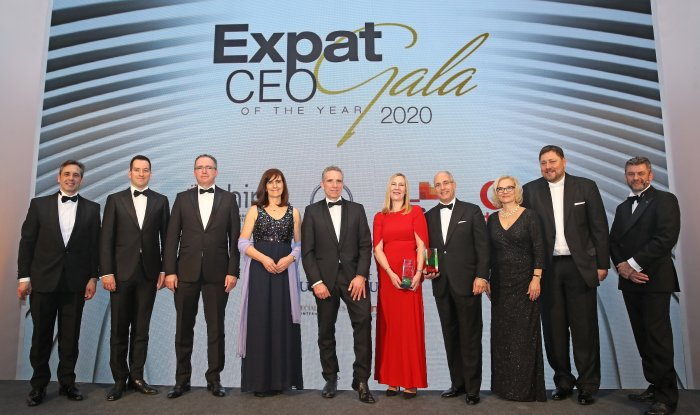 Seymour 1st U.K. Winner of Expat CEO of the Year