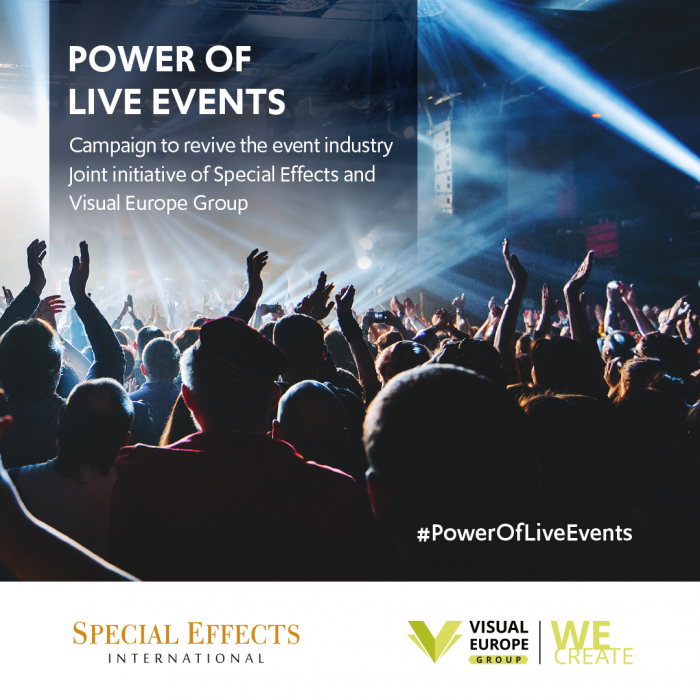 New online campaign to revive 'The Power of Live Events'