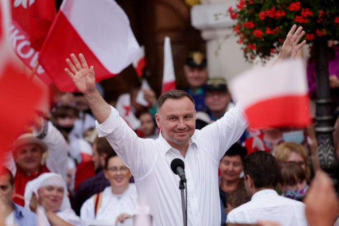 Poland's conservative president Duda wins relection