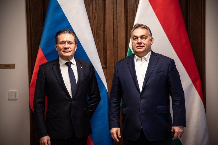 Orbán meets with Rosatom CEO in Budapest