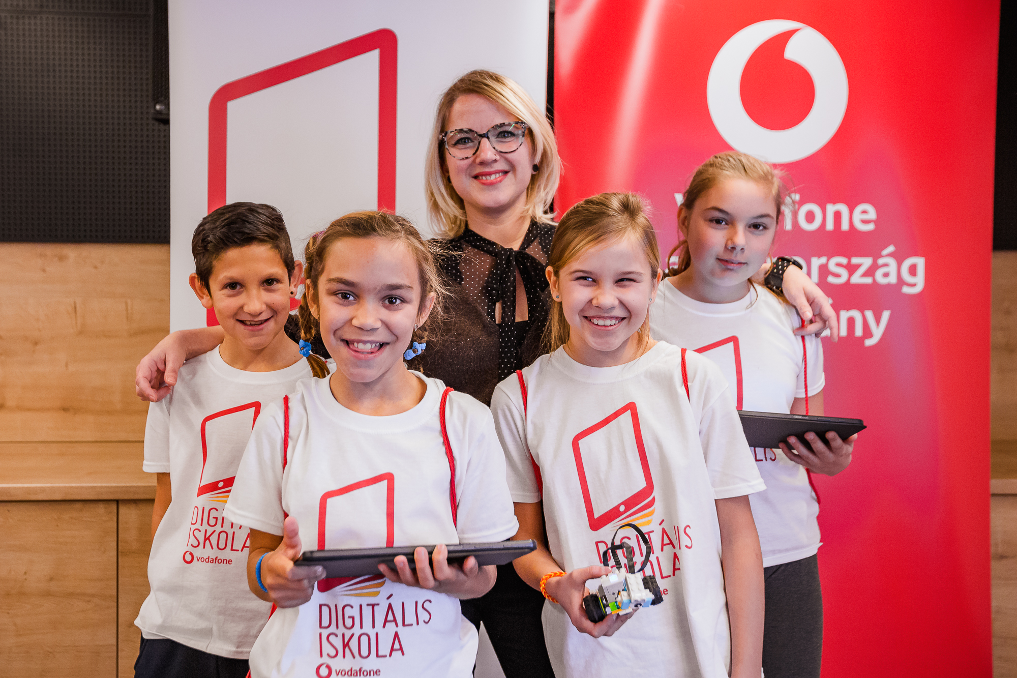 Vodafone invests EUR 20 mln to advance digital skills and education worldwide