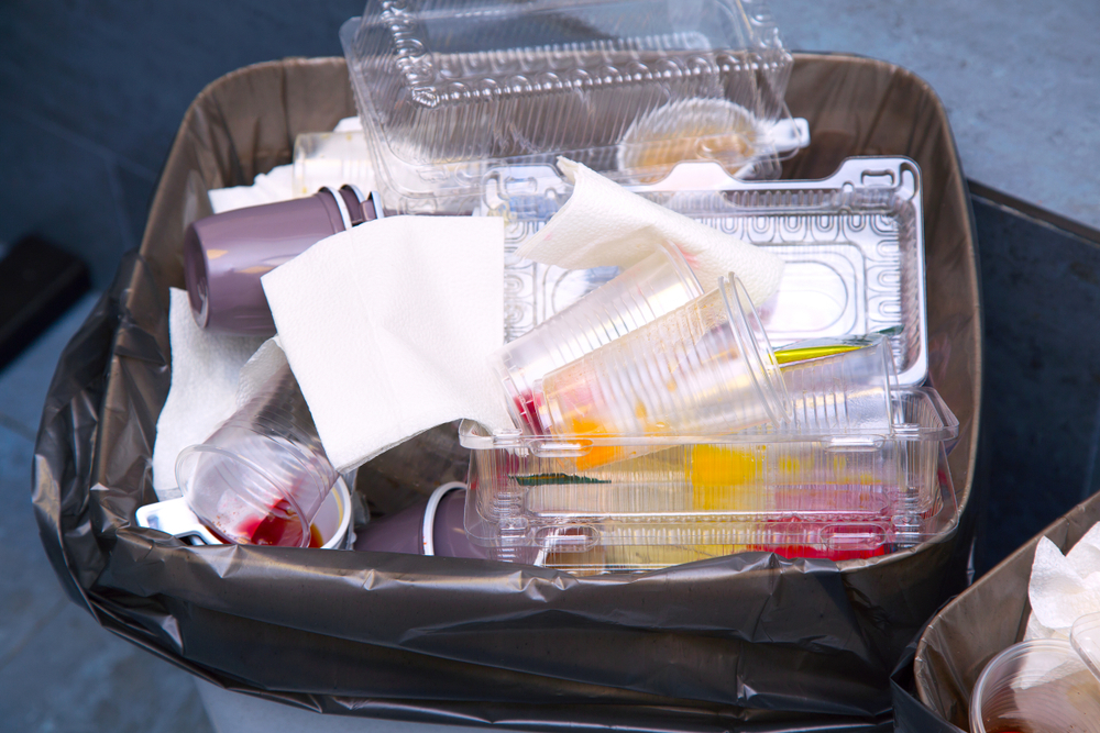 Plastic packaging waste recycling rate below EU average