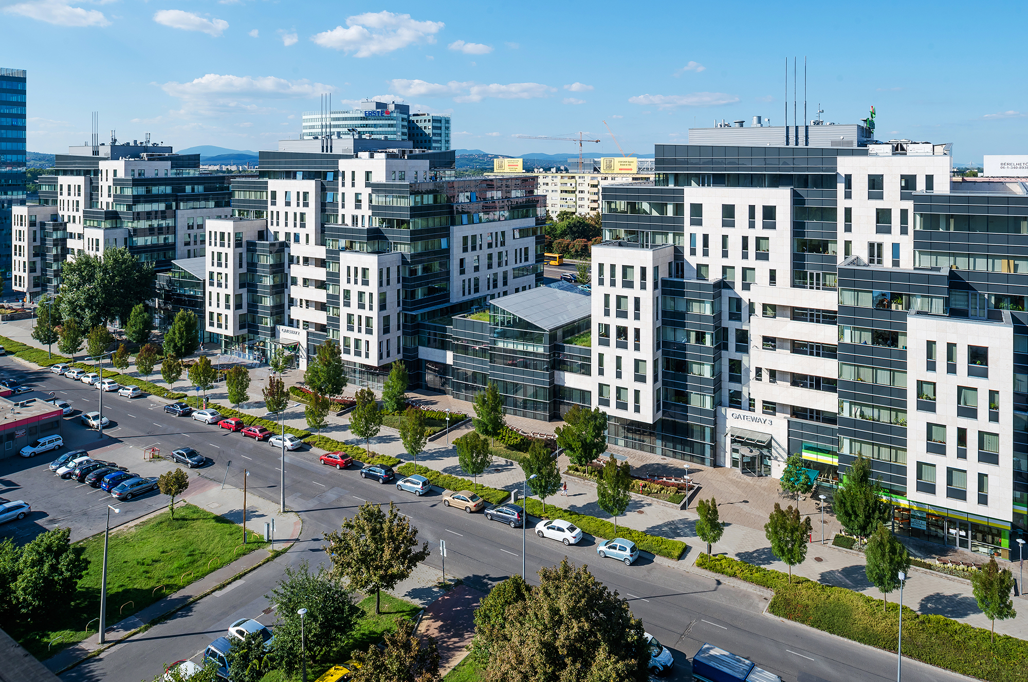 AKZO NOBEL to move Budapest HQ to Gateway Office Park