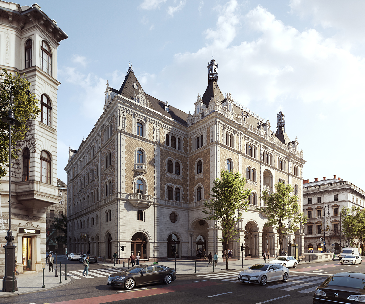 Drechsler Palace to be transformed into W Budapest Hotel